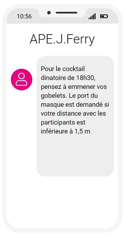 CocktailAPE-SMS