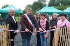 inauguration des Jardins de l\'Autour