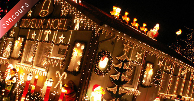 Concours des illuminations de no l 2013 for Les decorations de noel